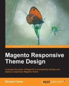 Magento web design book by Peacock Carter Yorkshire
